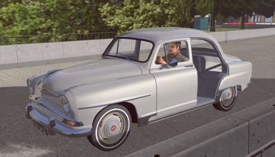 Picture of the Simca Aronde